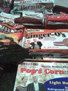 Newman's Own Organics Snacks And Cookies