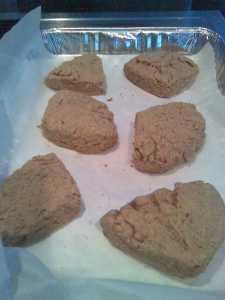 The Peanut Butter Boy's Scones