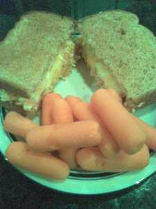 Buffalo Chicken Dip Sandwich