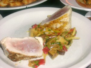 Local Albacore Tuna With Vegetable Salad Medley