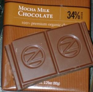 Newman's Own Organic Mocha Milk Chocolate