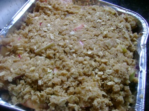 Recipe: Vegan Apple Crisp