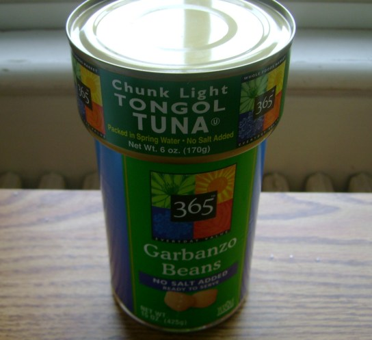 365 Brand Canned Tuna And Chickpeas