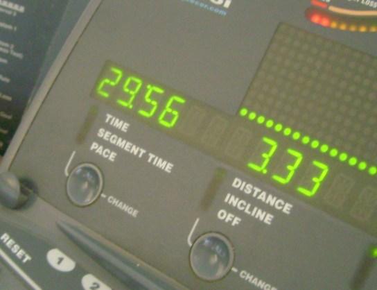 10 Miles In 1:29:56