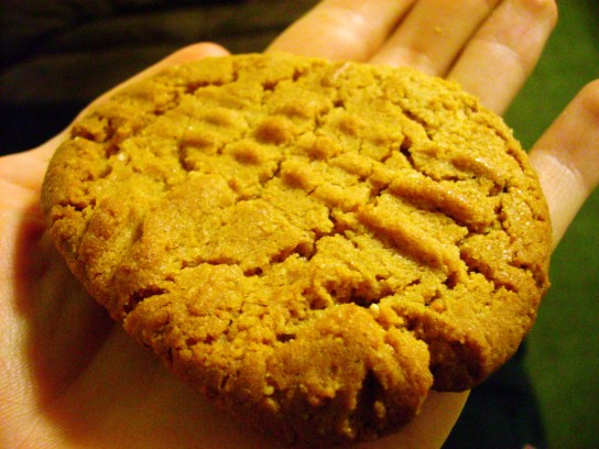 5-Ingredient Peanut Butter Cookie