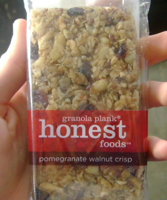 Honest Foods Pomegranate Walnut Crisp Granola Plank