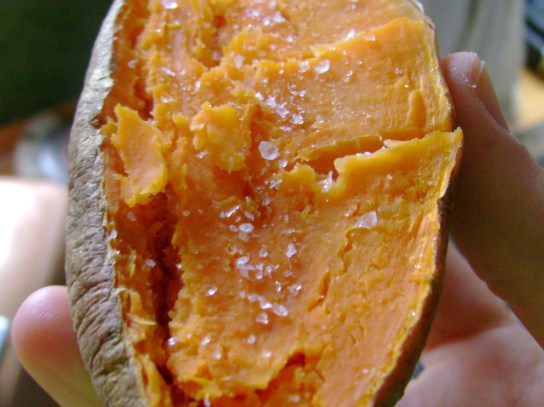 Sweet Potato And Salt