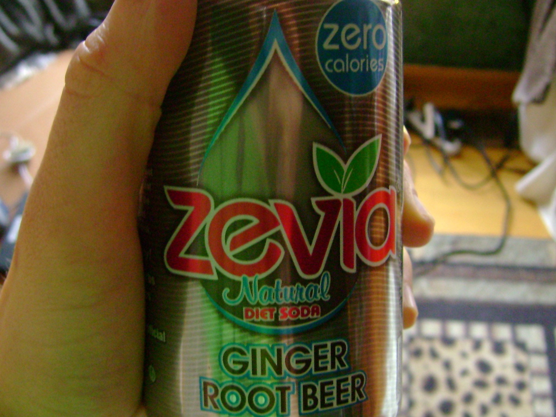 Ginger Root Beer Zevia