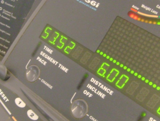 12 Miles In 1:46:11