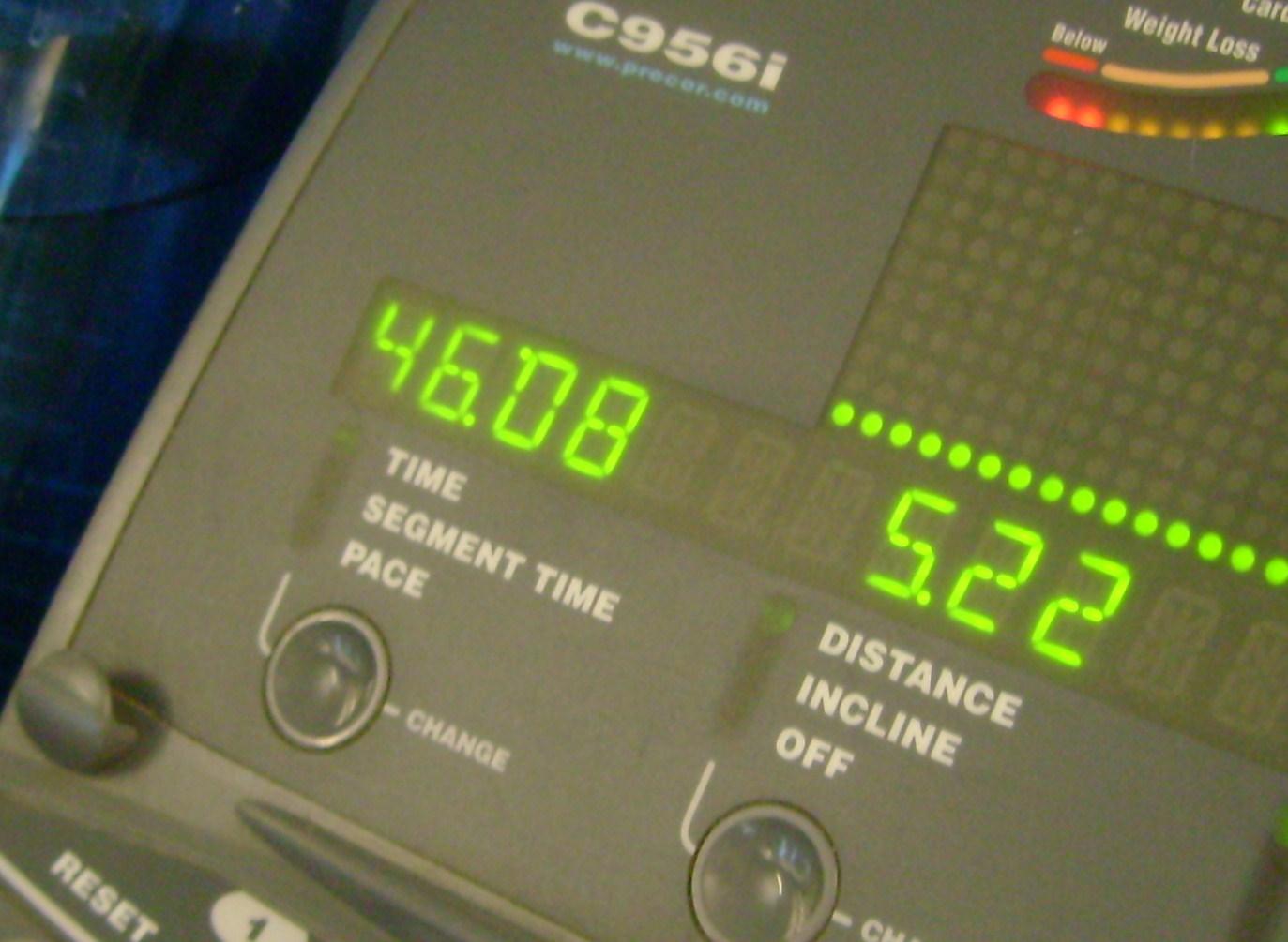 12 Miles In 1:46:08