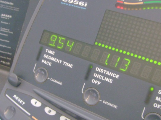 8 Treadmill Miles In 69:54