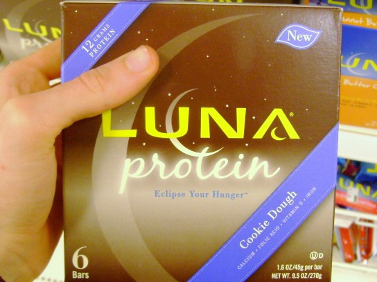 Luna Protein Cookie Dough Bars
