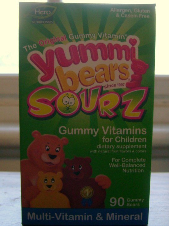 Yummi Bears Sourz Multi-Vitamin