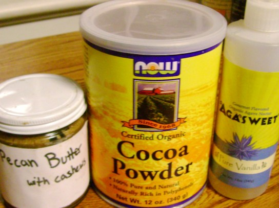 Chocolate Pecan Butter Ingredients