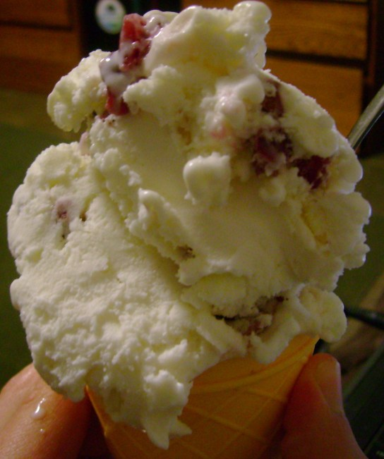 Local White Chocolate Cranberry Gelato