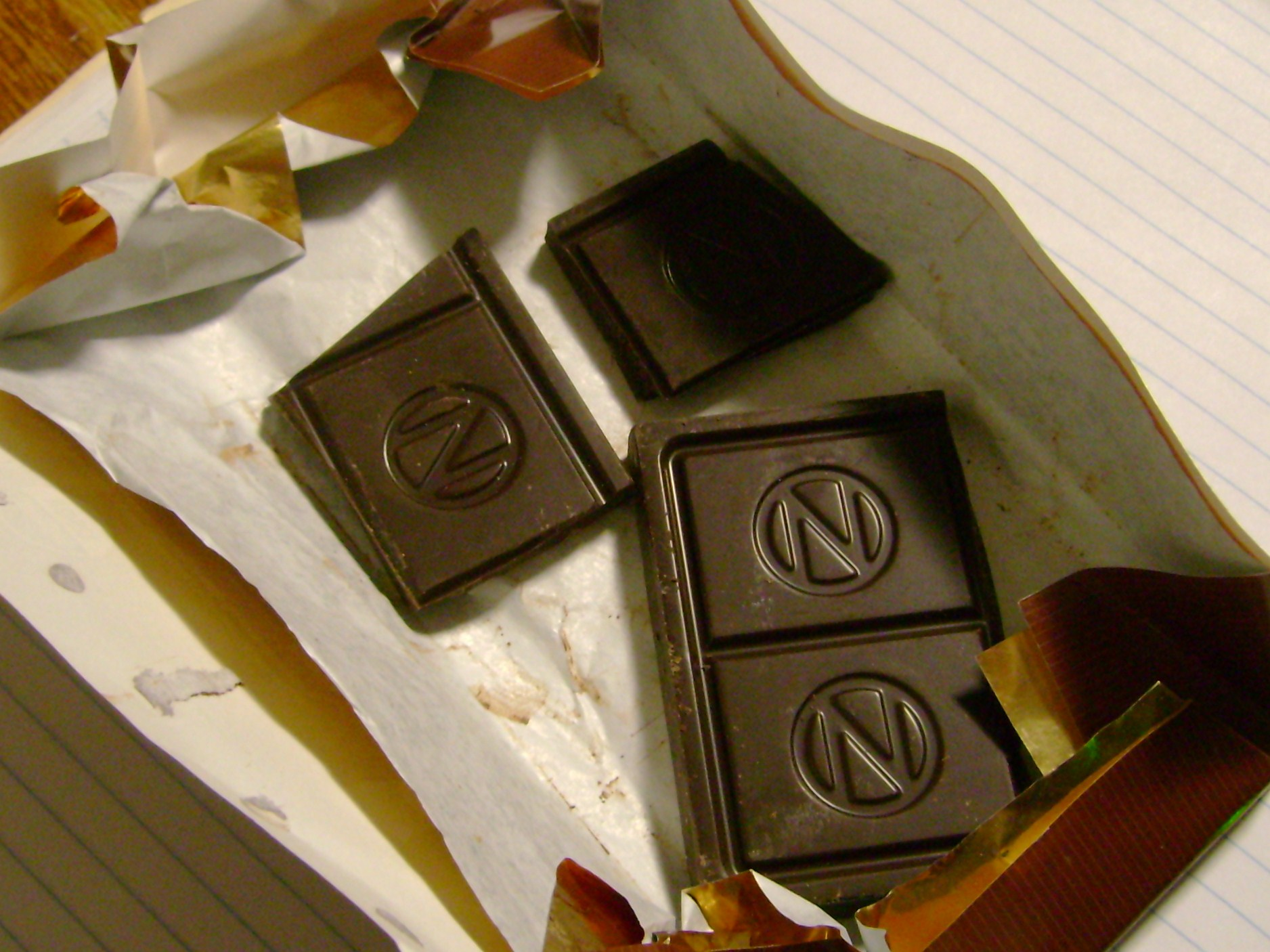 Newman's Own Organics' Super Dark Chocolate