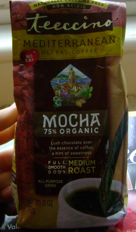 Teeccino Mocha Herbal Coffee