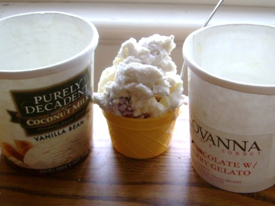 Vanilla Bean Purely Decadent And White Chocolate Cranberry Giovanni Gelato