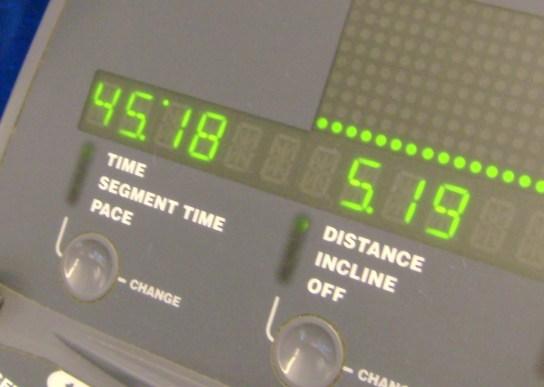 12 Miles In 1:45:18