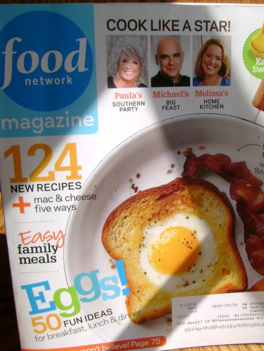 April's Food Network Magazine