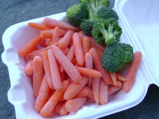 Baby Carrots And Broccoli