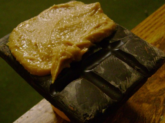 70% Dark Chocolate With Vanilla Peanut Butter