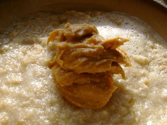 Oatmeal With Vanilla Peanut Butter