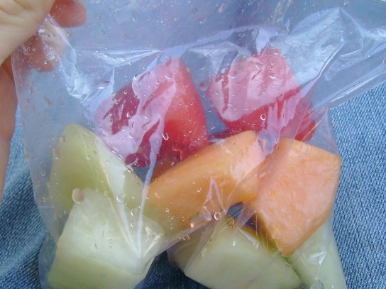 Cantaloupe, Honey Dew, And Watermelon
