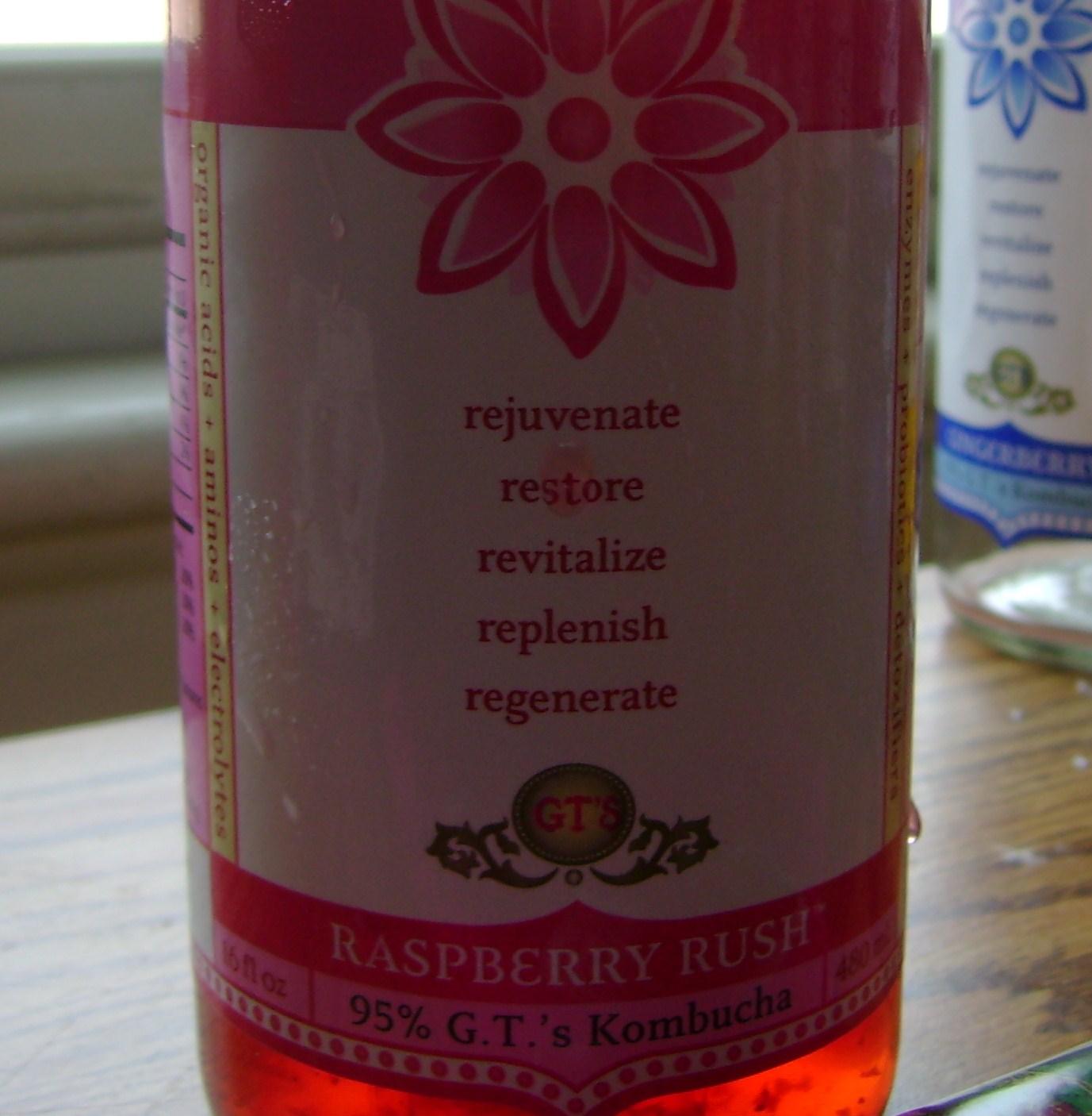 Raspberry Rush Kombucha