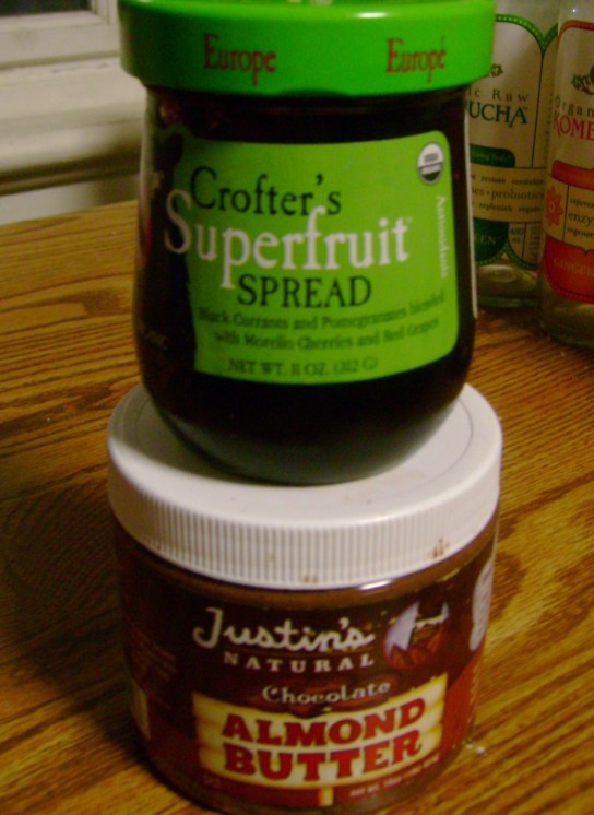 Crofter's Europe Spread And Justin's Chocolate Almond Butter