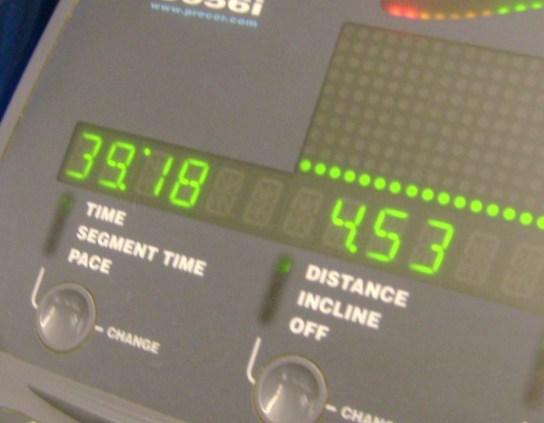 11.5 Miles In 1:39:18