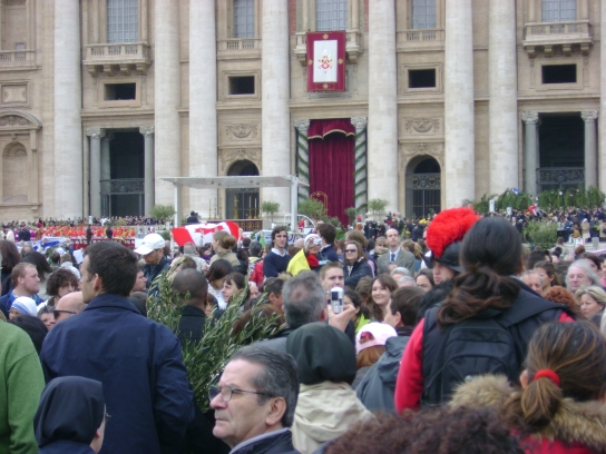 The Vatican On Palm Sunday