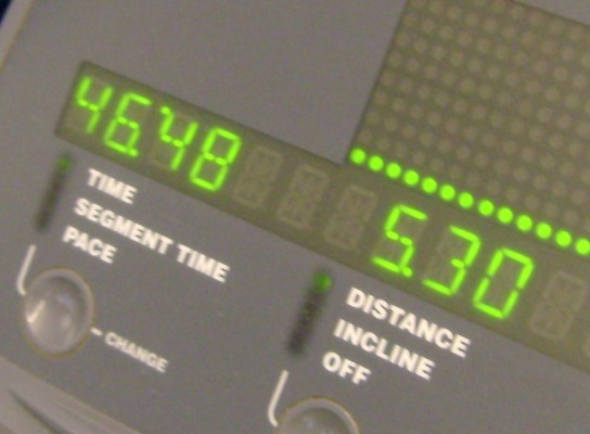 12.1 Miles In 1:46:48