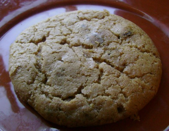 Chewy Almond Raisin Cookie