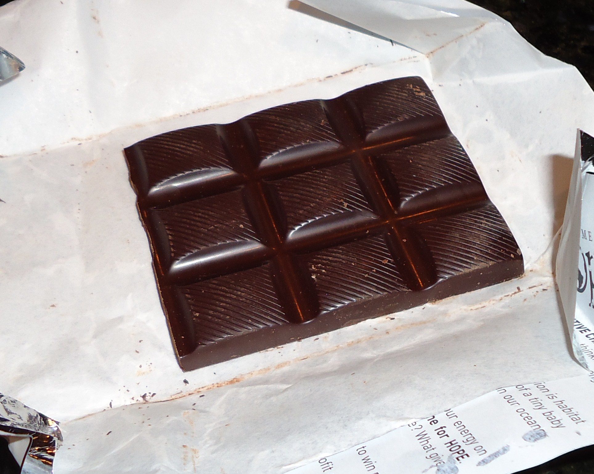 Organic Smooth Dark Chocolate