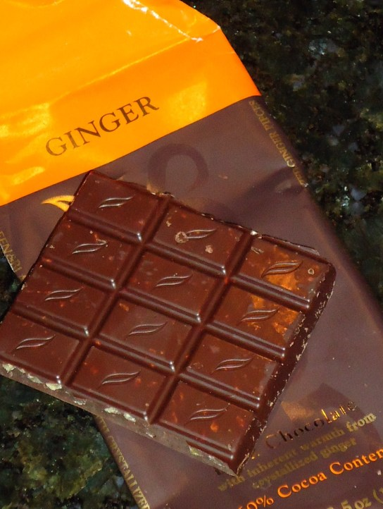 Green & Black's Ginger Dark Chocolate