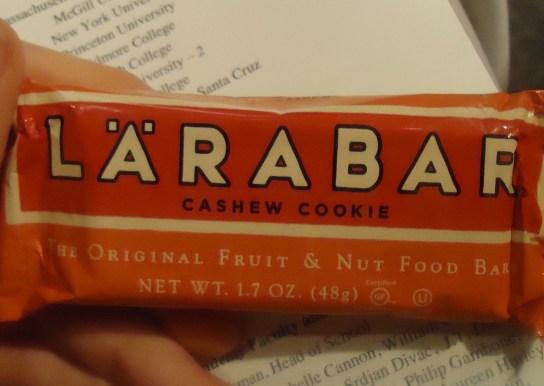 Cashew Cookie Larabar