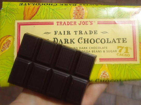 Trader Joe's Fair Trade Dark Chocolate
