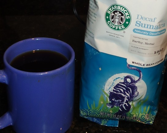 Starbucks Sumatra Decaf