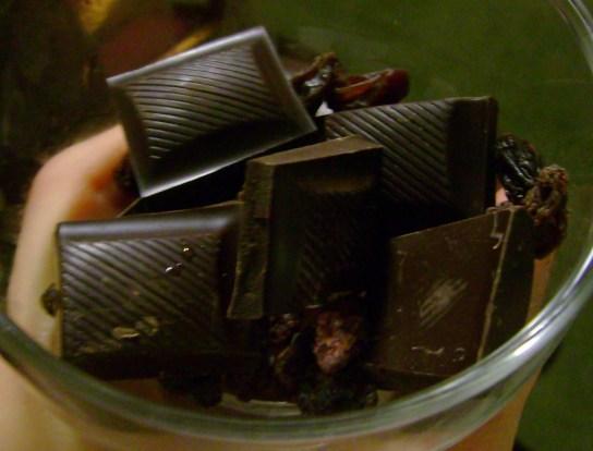 Mint Dark Chocolate And Raisins