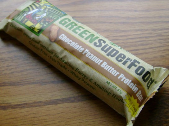 Amazing Grass Chocolate Peanut Butter Protein Bar
