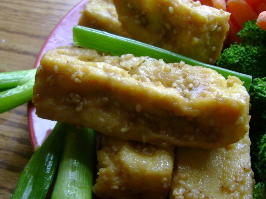 Golden Sesame Tofu