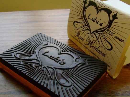 Lulu's Rare Heirloom Chocolate Bar
