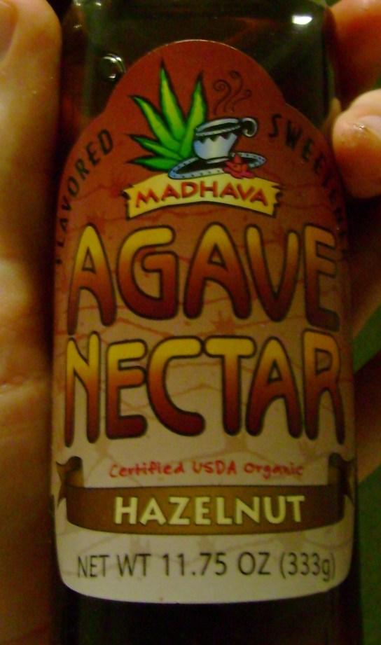Madhava Hazelnut Agave