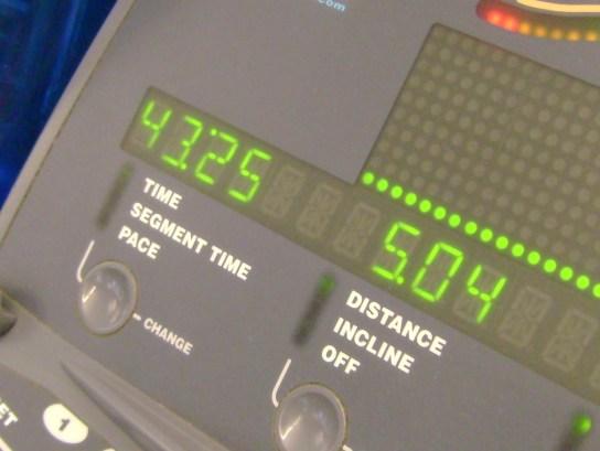 12 Miles In 1:43:25