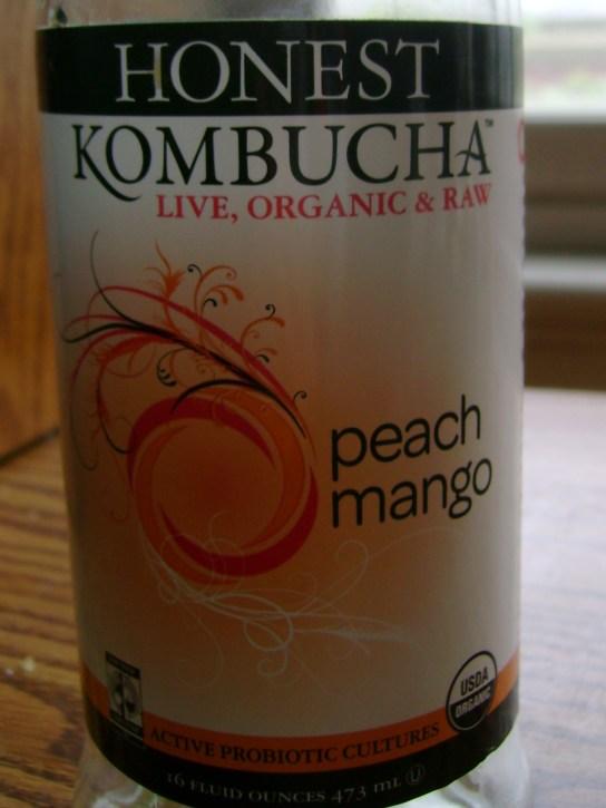 Peach Mango Honest Kombucha